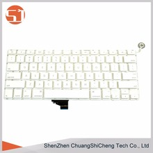 "Wholesale 100% Well-working&new Laptop US Layout Keyboard for Apple Macbook 13.3"" A1342"