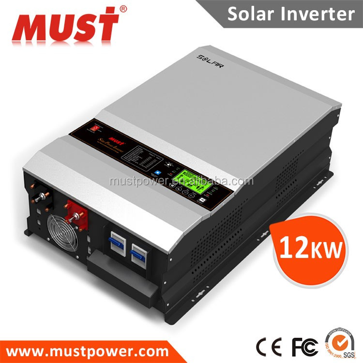 2016 MUST 4kva to 12kva low frequency solar pump inverter