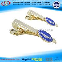 Metal tie clip, fashion tie clip, airplane tie clip