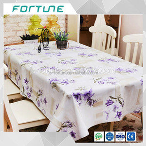 Best price Cold and Static Clear Plastic PVC Table Cloth