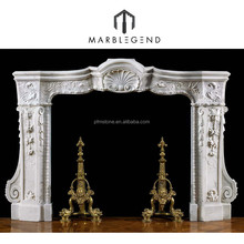 hot sale antique marble fireplace supplier cheap fireplace mantel for sale