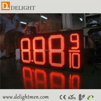 led time and temperature signs/ price led full colour outdoor display/ perfume oil display