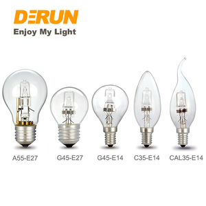 A55 A60 C35 G45 42W 220V Traditional Halogen Lamp