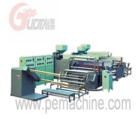 7 layer bubble film laminating machine