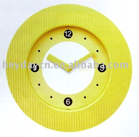zhangzhou plastic wall clocks (HH-6417)