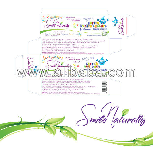 Natural Childrens Toothpaste