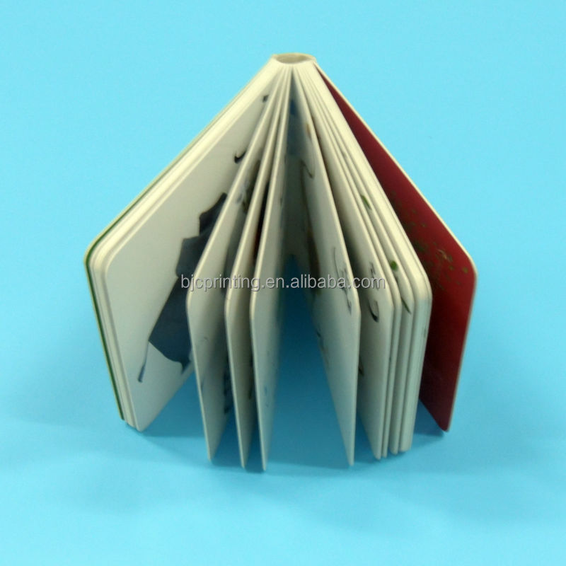 China printing high quality children/baby thick board book