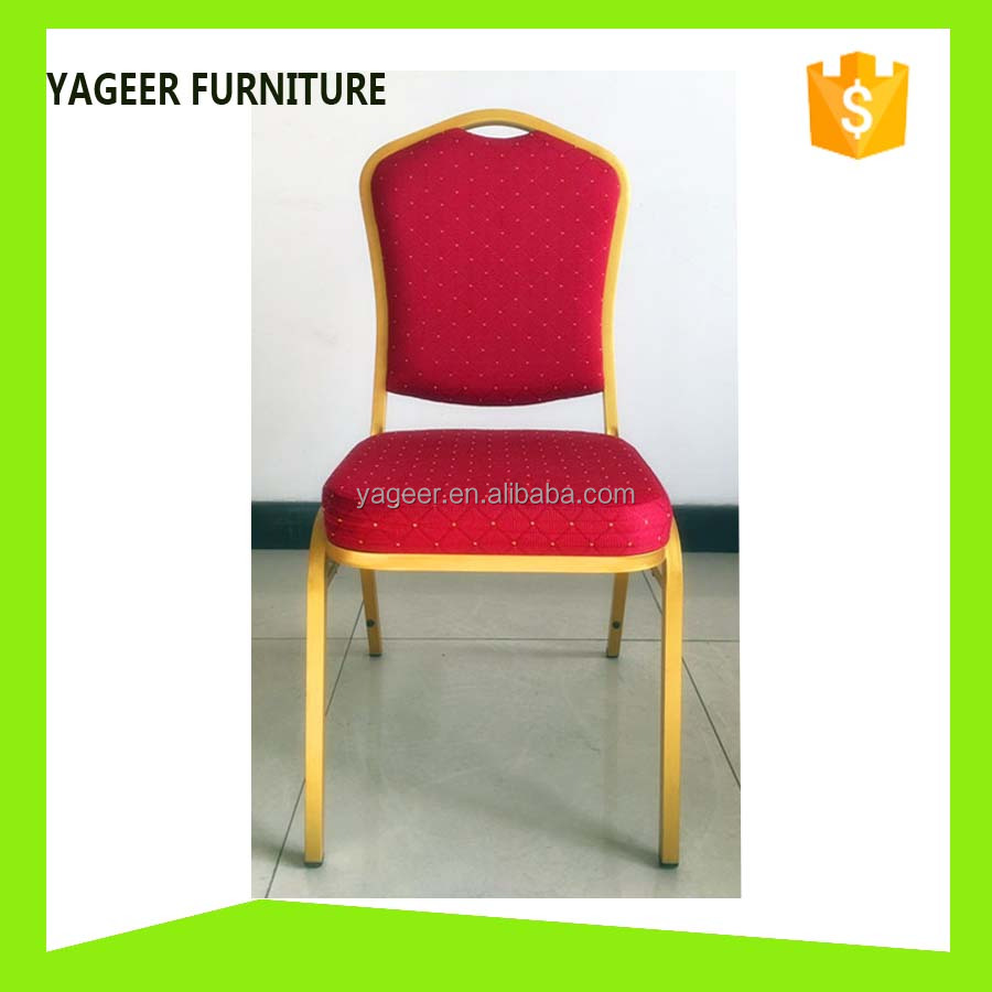 Premium banquet iron chair for business conference/wedding/party