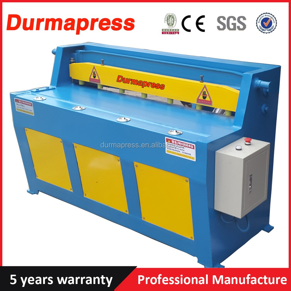 Durmapress factory <strong>Q11</strong>-3X1250 Metal Electric <strong>Shearing</strong> <strong>Machinery</strong>