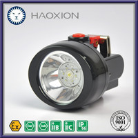 Explosion proof Water-proof Dust-proof Moisture-proof Impact-proof KL2.5LMA Brightest rechargeable LED headlamp