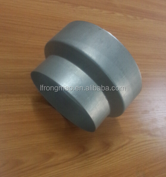 High quality aluminum pipe reducer for air ventilation ducts