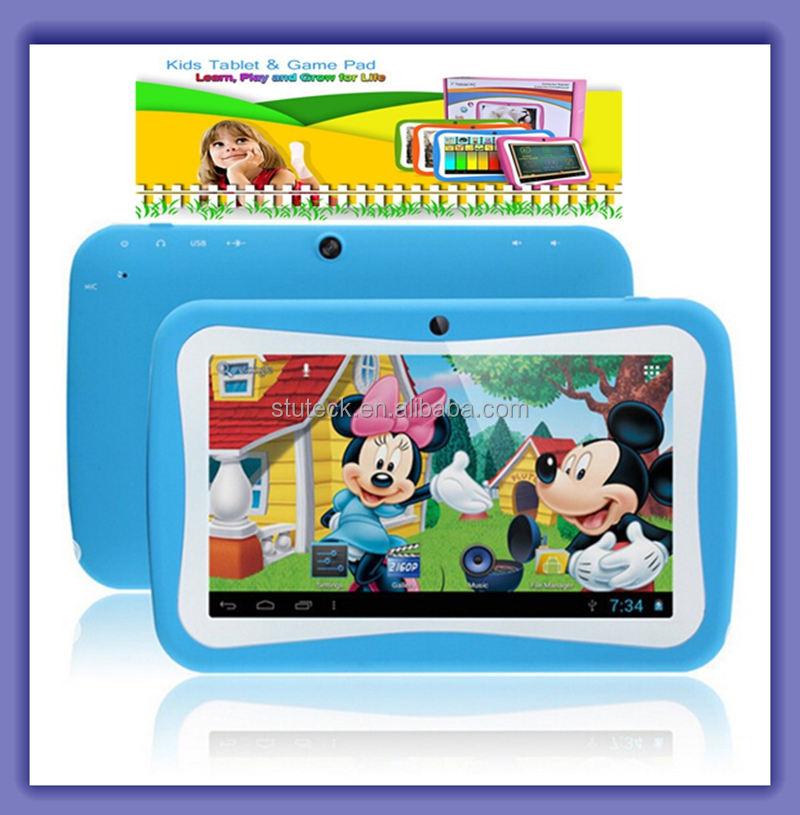 "Colors Cheap 7"" Inch HD Capacitive Touch Screen 512MB/8GB HDD Android 5.1 OS Kids Tablet PC"
