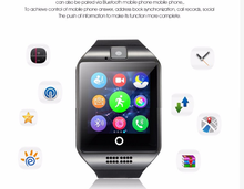 Marketable Products Patented Q18 Smart Watch Bluetooth Accessories Speaker Mobile Watch Phone Alibaba.com for Android Phone