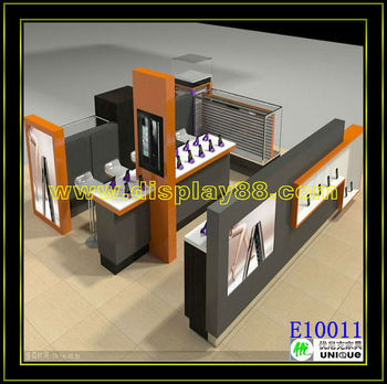 Modern mobile phone store design in shopping mall