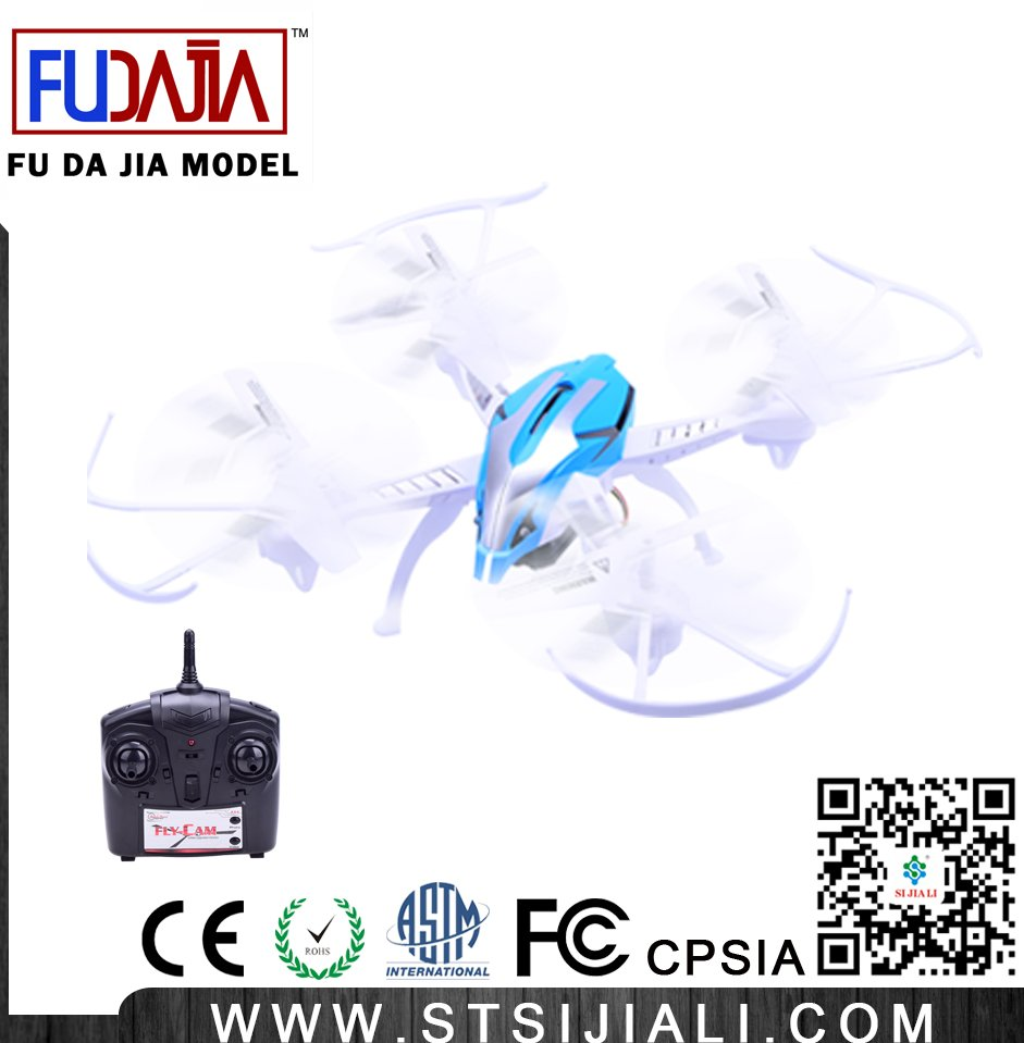 WIFI 2.4G 6 channel 4 axis RC drone professional with HD camera toy