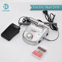 Pedicure machine for 30000 rpm or 20000 rpm nail drill with foot pedal