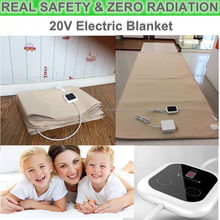High quality and zero radiation protection pregnant women electric blanket fitted under mattress