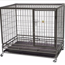 Custom Welded Square Tube Dog Cage Hot Selling In Philippines