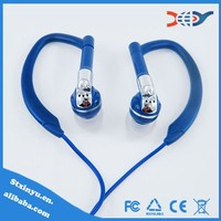 Sports earphone with microphone over ear earbuds for outdoor sports wholesales
