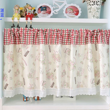 Wholesale cheap colorful printed bathroom curtain