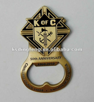 soft enamel bottle opener