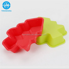 Christmas design silicone baking cups