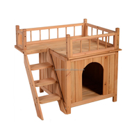new custom outdoor large cheap wooden dog kennel flooring fence panel