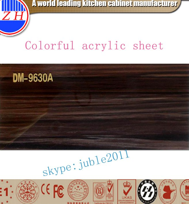 Waterproof heat resistant plastic acrylic sheet wholesale for kitchen cabinet door