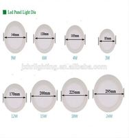 aluminium profile LED panel light mounting/ceiling frame