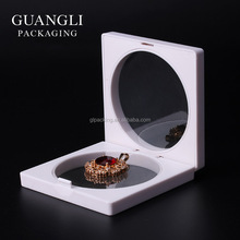 New style unique handmade jewelry display box PVC film for sale