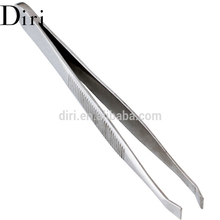 Hot Sell Private label eyebrow tweezer stainless eyebrow plucking tool kit