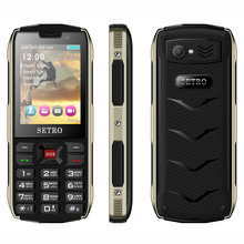 Setro SH8 GSM Standby Magic Voice 3 inch 4 Kartu Sim Handphone 3G Mobile Phone For Old People