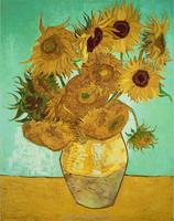 Sunflowers oil painting on canvas accessories