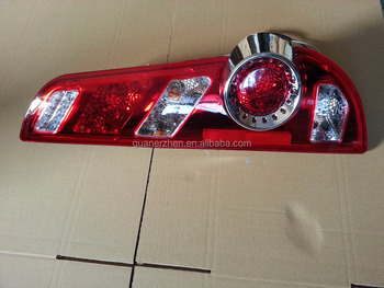 Combined tail lamp rear light for Bus