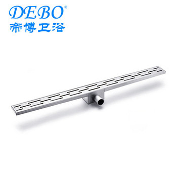 high quality linear shower channel/ side outlet shower drain/ linear floor drain