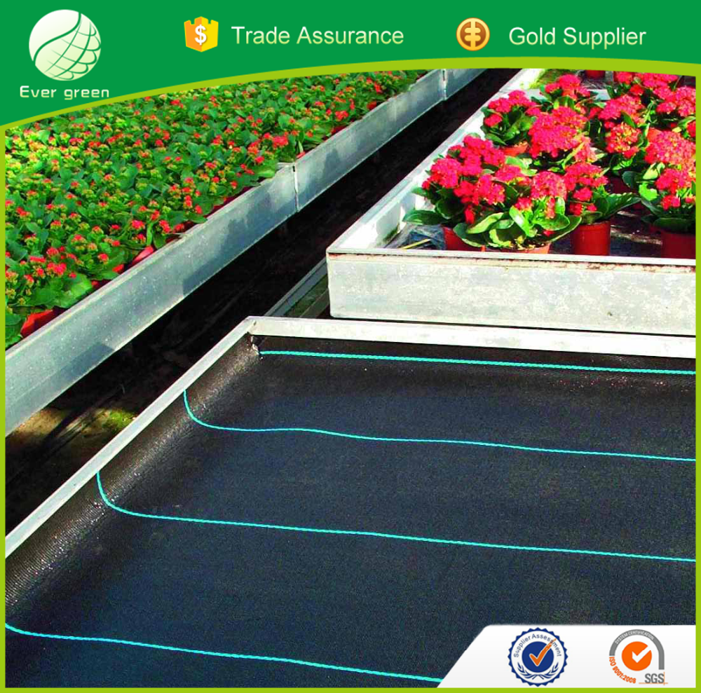 High Quality Black PP Weaven Ground Weed Control Barrier Mat for Agriculture
