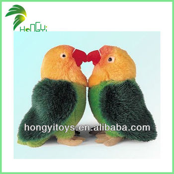 Newest Love Birds Kissing Plush