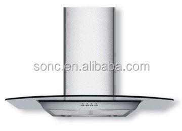 Flat Glass 90cm Cooker Hood