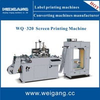 Automatic silk screen printing machinery