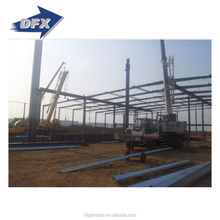 factory construction steel structure frame building project