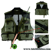 Wholesale classic multipocket fly fishing vest