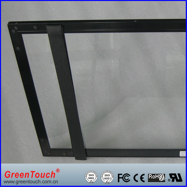 IR Multi touch screen overlay kit/ touch frame LCD display for advertising, conference, bank, event