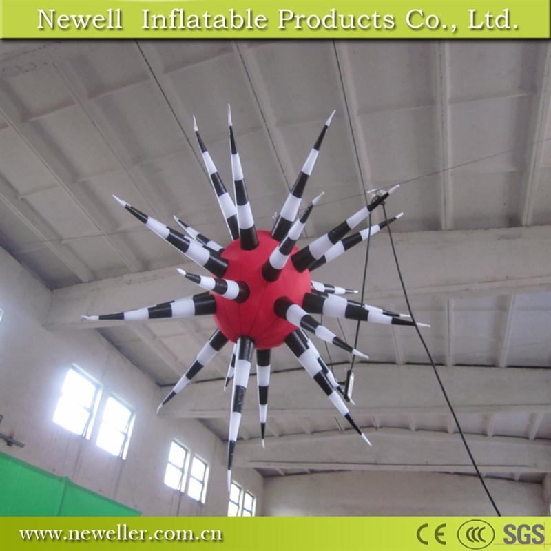 Good Quality hot sale wedding theme inflatable star With low price