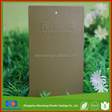 Gold supplier china electrostatic gold painting spray powder coating
