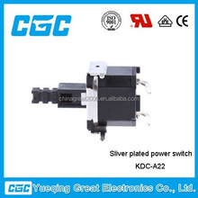 2014 hot products KDC-A22 KDC A02 F TV push button chave power switch