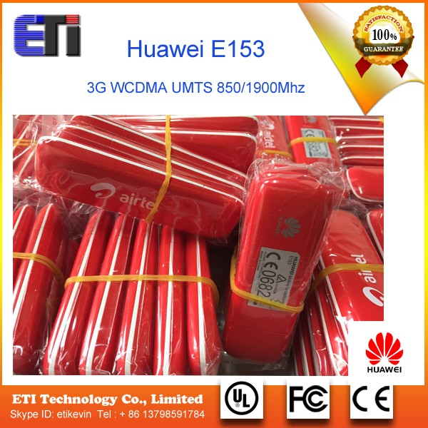 pocket and portable 3g Huawei E153 usb dongle