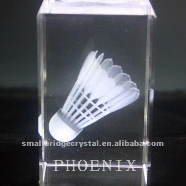 K9 Crystal Panda sport laser crystal cube