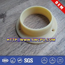 Custom made nylon shoulder flange plastic washer bushing
