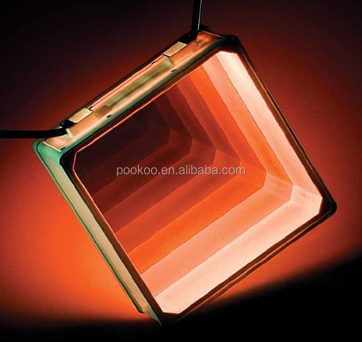 LED virtual spaceless Glass Brick Decorative Lights ip65