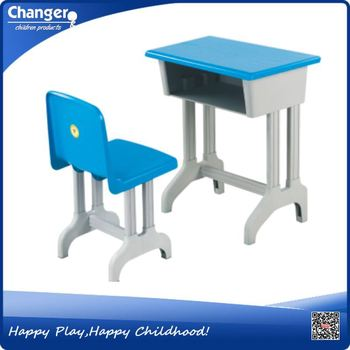 Preschool Kids Plastic Kindergarden furniture desk
